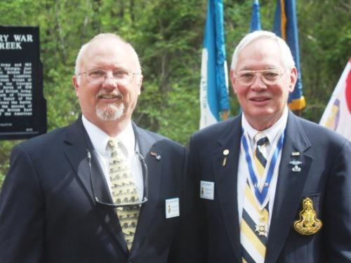 Dr. Roger Smith and COL Pat Niemann, Thomas Creek, Jacksonville