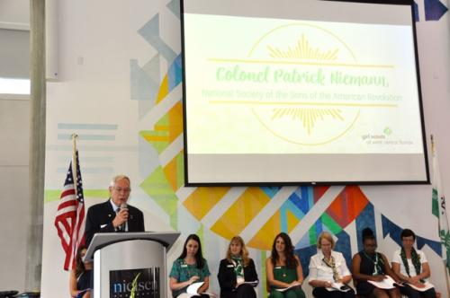 Addressing Girl Scouts Gold Award