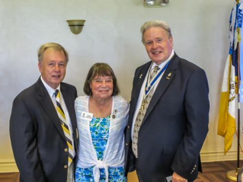 SAR Oct Meeting-Jim and Susan Grayshaw, Bob Cundiff