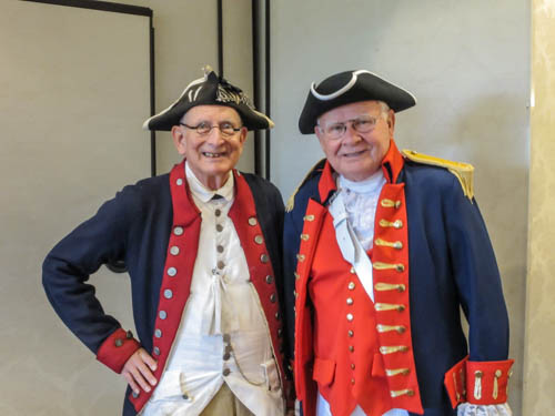 Compatriots Chuck Wetherbee and Jim Gibson