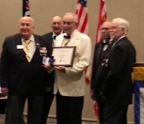 Parks Honeywell receives Patriot Medal